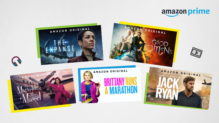 Watch award-winning movies & shows on Amazon Prime